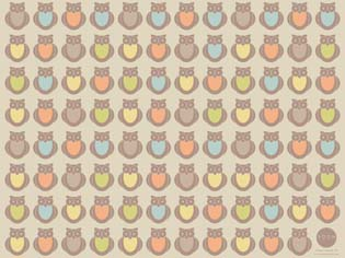 Room Creative Wallpaper - Owls